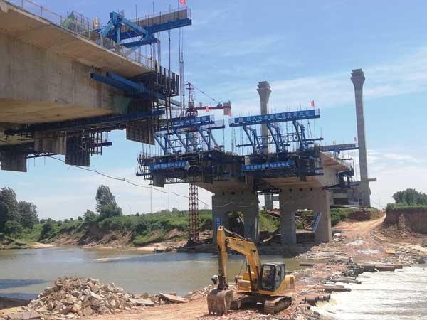 中建唐河特大橋項目